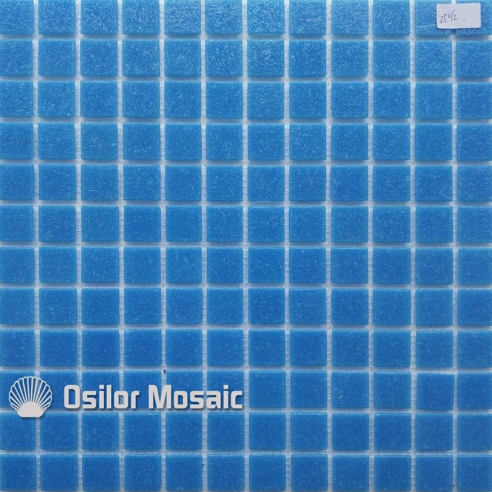 Env o libre del mosaico de cristal azul piscina de mosaico for Mosaicos de azulejos en paredes