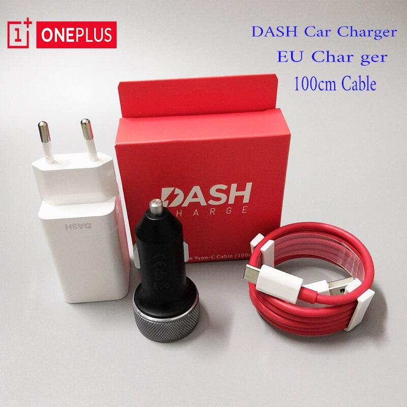 100% Original OnePlus 6 Dash Auto Ladegerät Dash EU Ladegerät Kabel 100 cm 3,4 v ~ 5 v = 3.5A Standard 5 v = 2A Für Oneplus 3/3 t/5/5 t/6