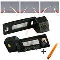 Trilha do carro do CCD da câmera invertendo trajetória de estacionamento Para Audi A5/A4L/Audi TT retrovisor NTSC PAL (opcional) sem fio (opcional)