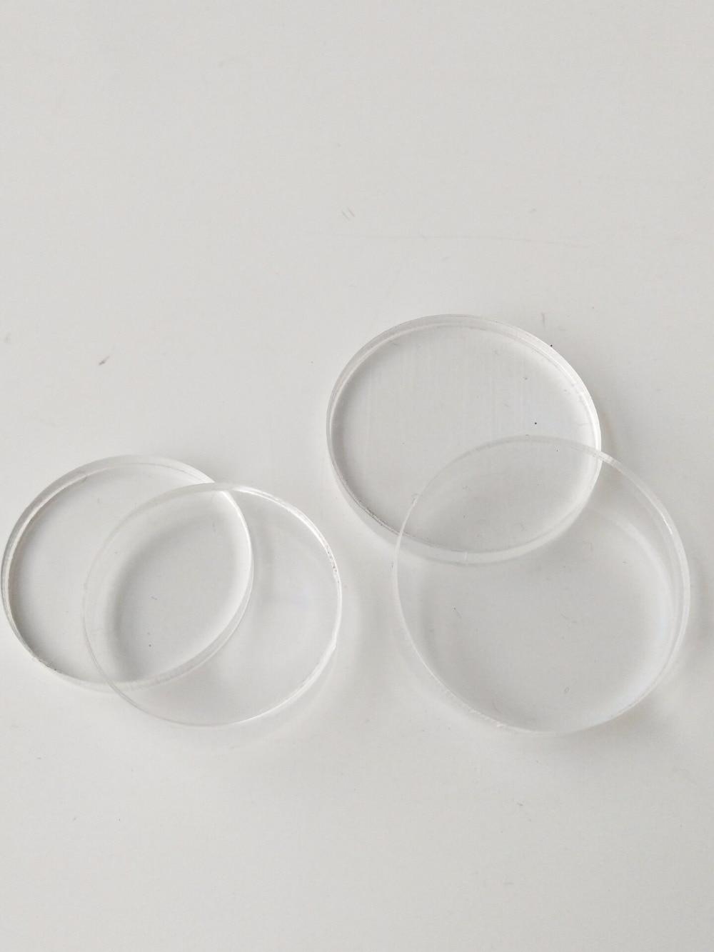 "Clear Round  Sheet plexiglass 1pc Acrylic Plastic 3//16/"" x 7/""  Circle"