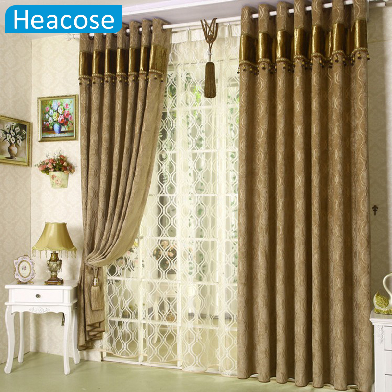 3m chenille jacquard window curtain soundproof thicken - Cortinas para velux ikea ...