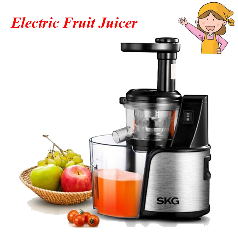 Fashion Electric Baby Juicer Multi-functional Steel Reverse Juice Machine for Fruit Vegetable with Pulp Ejection ZZ3360 rbm 767a 2200w home automatic multi functional fruit and vegetable ice sand bean milk mixer fried fruit juice broken machine 2l