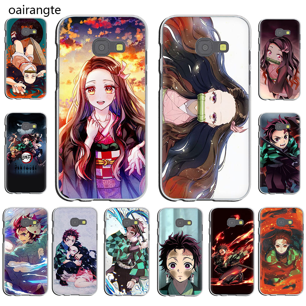 Anime Demon Slayer Kimetsu no Yaiba hard <font><b>Phone</b></font> <font><b>Case</b></font> for <font><b>Galaxy</b></font> J7 J6 <font><b>J5</b></font> J3 J2 J1 2015 <font><b>2016</b></font> Prime 2017 EU US Version image
