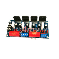 Free Shipping 4 LM3886 120W 120W Parallel Double Channel Fever Amplifier Board