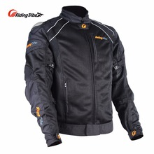 Cycling Motorcycle Jacket Waterproof Windproof Anti-UV Breathable Motor Jacket Protection Racing Clothes Full Body Armor