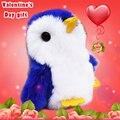 Mini Pompon Trinket rex Bunny Fur Penguin Key chain Pom Pom toys Women Charm Bag pendant Car Key ring New Year Gift