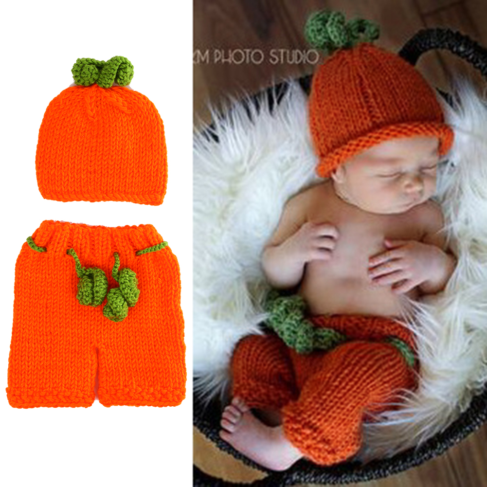 Newborn Baby Set Cute Crochet Knit Costume Prop Outfits Photo Photography Baby Hat Photo Props New Born Baby Girls Halloween Set newborn baby cute crochet knit costume prop outfits photo photography baby hat photo props new born baby girls cute outfits