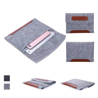 for ipad Pro 10.5 New 2017 Shockproof Wool Felt Tablet Sleeve Bag Pouch Case for Samsung Tab S3 Air 2 Huawei 9
