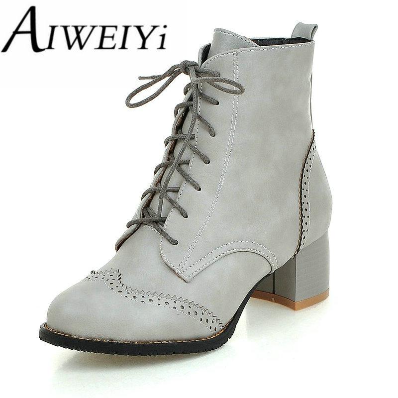 Online Get Cheap Short Black Combat Boots Women -Aliexpress.com