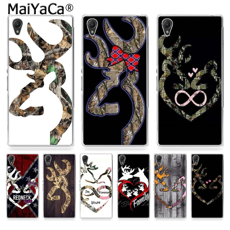 MaiYaCa Browning Hunting Deer Coque Shell Phone Case for Sony z2 z3 z4 z5 z5C LG G3 G4 G5 MOTO G4 G Play