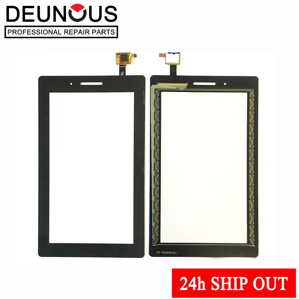 New 7'' inch For Lenovo TAB 3 Essential 710F Tab3 TB3-710F TAB3-710F Touch Screen Digitizer LCD display Sensor Replacement new 7 inch for lenovo tab3 tb3 710f lcd display and touch screen digitizer assembly with free shipping