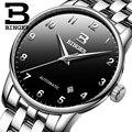 Швейцарские мужские часы Бингер  Лидирующий бренд  роскошные деловые механические наручные часы  Авто Дата  мужские часы  Relogio Masculino  2019