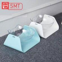 SMARTPET 15 градусов регулируемая миска для кошек защита шейного позвонка косой котенок есть двойная миска с кошачьими ушами