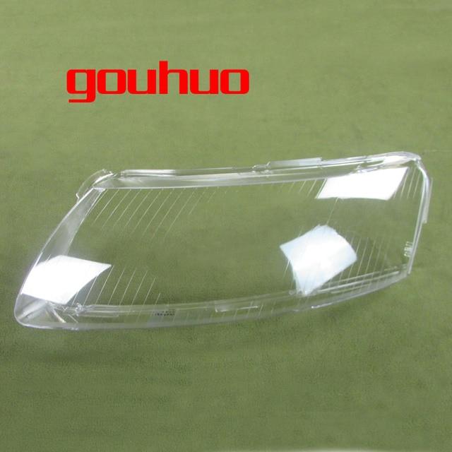 2 PCS Fari di Plastica Borsette Paralume Fari obiettivo di Vetro di Copertura del faro Borsette per 06 11 Audi A6 A6L C6