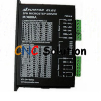 New MD680A 256 Microstep Driver 2phase DC24-80V 7.8A Stepper Drive fit 86 NEMA 34 Stepper Motor for Engraving Machine Feeder