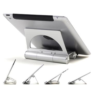 "Novo alumínio metal titular desk suporte de montagem para apple ipad 2 3 4 5 air mini para iphone 4s 5s tablet pc 3.5-14 ""Suporte Universal"