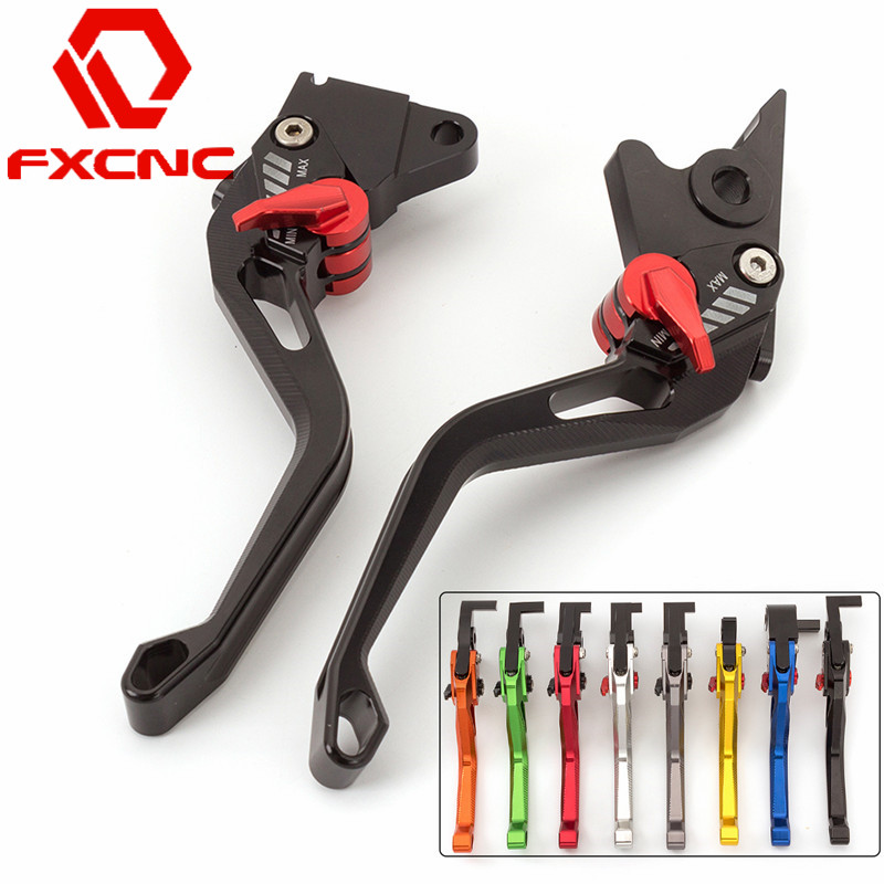 FXCNC 3D Feel Motorcycle Accessories Adjustable Brake Clutch Levers For For Yamaha YZF R25 2015 R3 2014 2015 Motorbike Handle