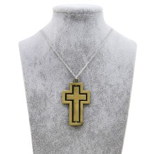 Original New Vintage Gold Rotatable Cross Choker Necklace Women Jesus Crucifix Prayer Chain Necklace Men Christian Jewelry Gift brand new vintage christian holy bible necklaces pendants for women retro gold jesus necklace men cross prayer jewelry gift