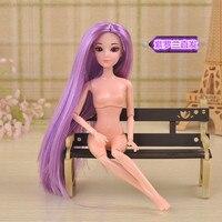 Детские Куклы и Мягкие игрушки 3D 1/6 BJD diy nake