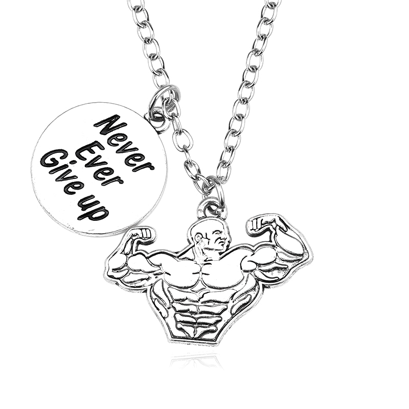"""Pendant """"Never Ever Give Up"""""""