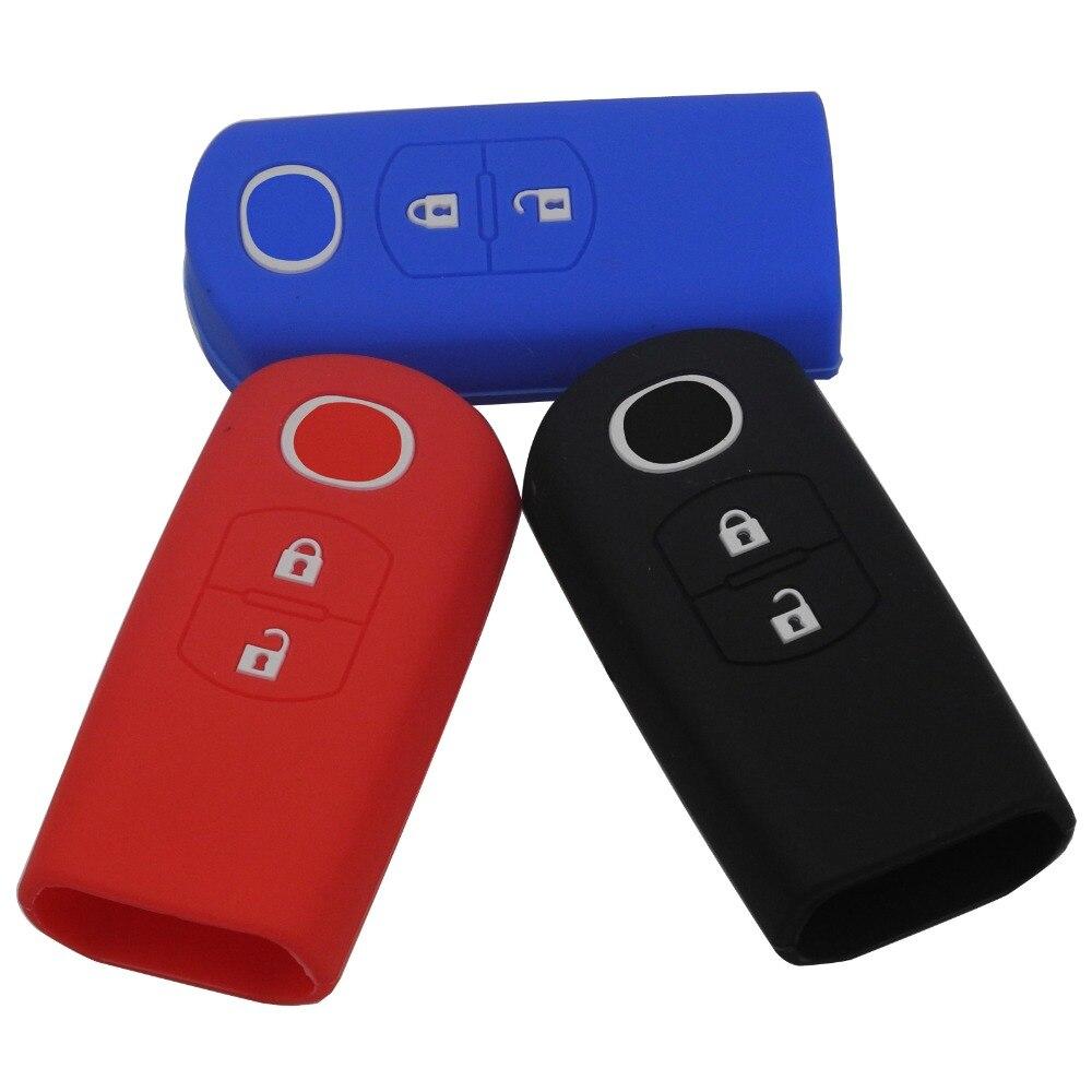 2 Buttons Silicone Rubber Car Remote Key Case Cover FOR Mazda CX-5 /CX5 Atenza CX-7 CX-9 MX5 Holder Case Smart Key2 Buttons Silicone Rubber Car Remote Key Case Cover FOR Mazda CX-5 /CX5 Atenza CX-7 CX-9 MX5 Holder Case Smart Key