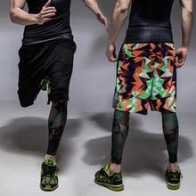 FreeSummer male plus measurement unfastened Elastic Waist shorts knee-length Casual quick trousers plus measurement males's clothes 2xl-8xl