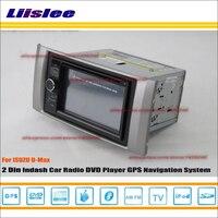 Liislee 이스즈 D-최대 D 최대 2009 ~ 2011 자동차 라디오 reo CD DVD 플레이어 GPS 항법 HD 터치 오디오 비디오 S100 탐색 네비게이션 네비게이션 시스