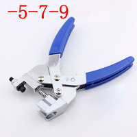 F 5 7 9 Connector Squeeze Pliers RG6 RG11 Crimping Pliers For Cable TV F Connector