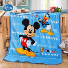 Disney Mickey Mouse Stitch Cars Princess blanket Lightweight Thin 70x100cm Pets Throw Blanket for Baby Boys Girls Gift on Plane