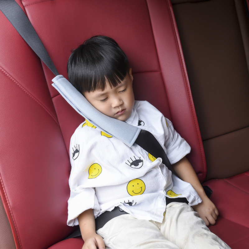 Soft Baby Car Seat Belt Shoulder Pillow Car Safety Strap Belts Pillow Protection