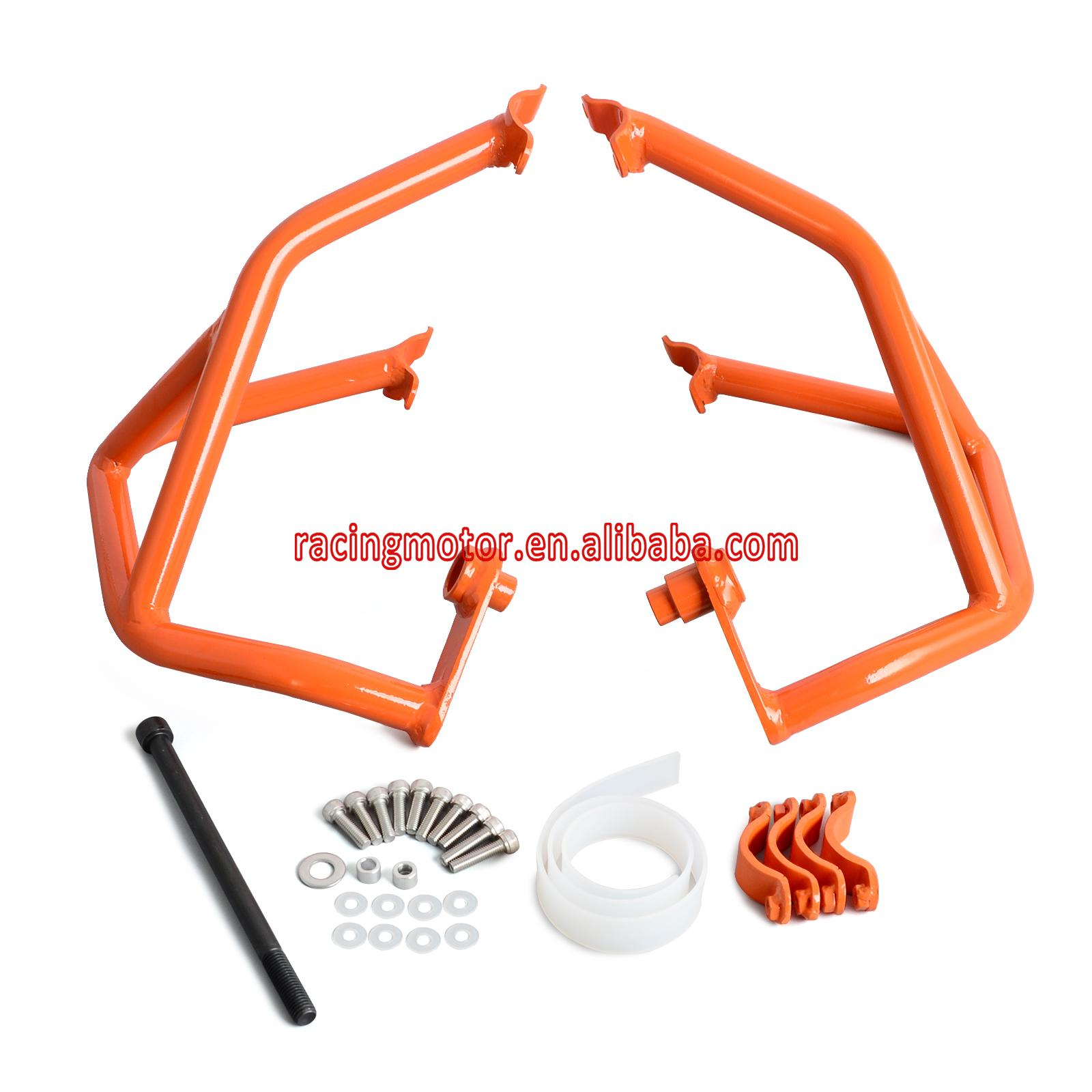 Motorcycle Engine Guards Protector Crash Bars for KTM LC4 690 Duke/R 2012 2013 2014 2015 2016 nicecnc front rear axle fork slider crash protector pads for ktm 690 duke r smr smc sm enduro 2012 2013 2014 2015 2016 2017 2018