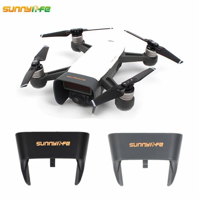 Sunnylife DJI Spark Drone Gimbal Camera Lens Case Sun Hood Upgraded Protection Cover Sunshade Cap DJI Spark Accessories
