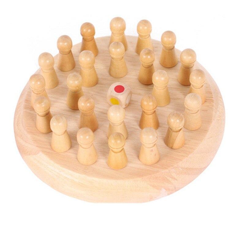 Fëmijët ndeshje kujtese prej druri shkop shahu lojë argëtuese - Të mësuarit dhe arsimimi - Foto 4