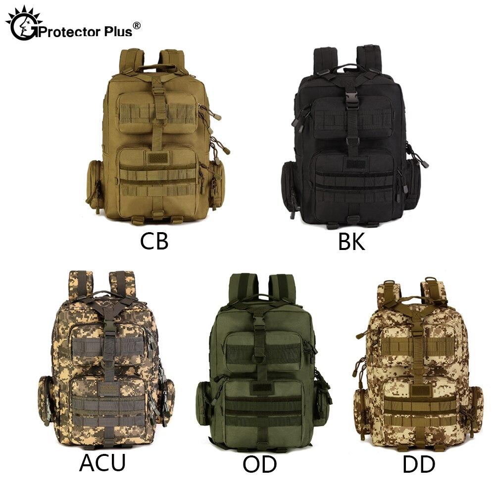 Protecteur PLUS militaire MOLLE sac à dos tactique pistolet sac désert patrouille sac à dos Camo chasse de haute qualité en plein air voyage armée - 6
