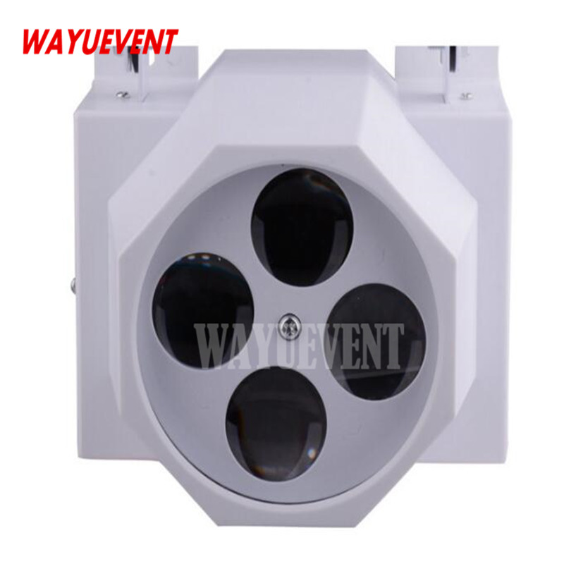 Hot sales LED 4 eyes gobo stage effect light Home entertainment DJ Bar Club Disco good effect 4 flower moving head light cheap price new 4lens led pattern light 4 eyes led gobo effect light beam dj disco light factory directly sale
