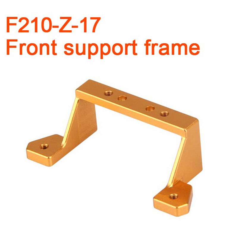 ФОТО 5pcs/Lot Original Walkera F210 RC Helicopter Quadcopter Spare Parts Front Support Frame Front Support Bracket F210-Z-17