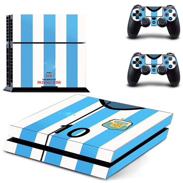 HOMEREALLY Stickers 2018 RU world cup PS4 Skin Cover For Sony PlayStation 4 Console and Controller Skin Ps4 Accessory Sticker    4