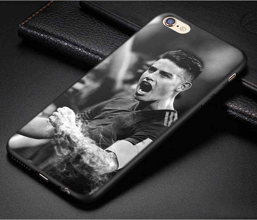 timeless design 4d437 e46a9 Black Soft Silicone Phone Cases Dele Alli Style Covers for Apple iPhone X 8  7 6 6s Plus 5 5S SE 5C