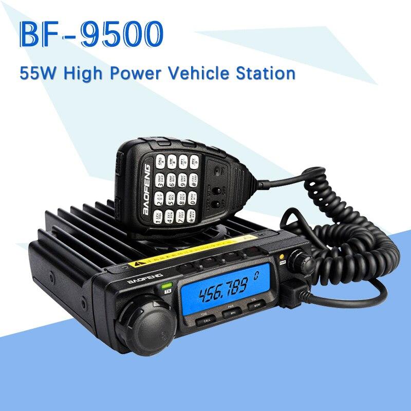 Baofeng BF-9500 UHF 400-470 MHz 200CH CTCSS/DCS/DTMF Émetteur-Récepteur, 50 W/25 W/10 W Voiture Mobile Véhicule Radio