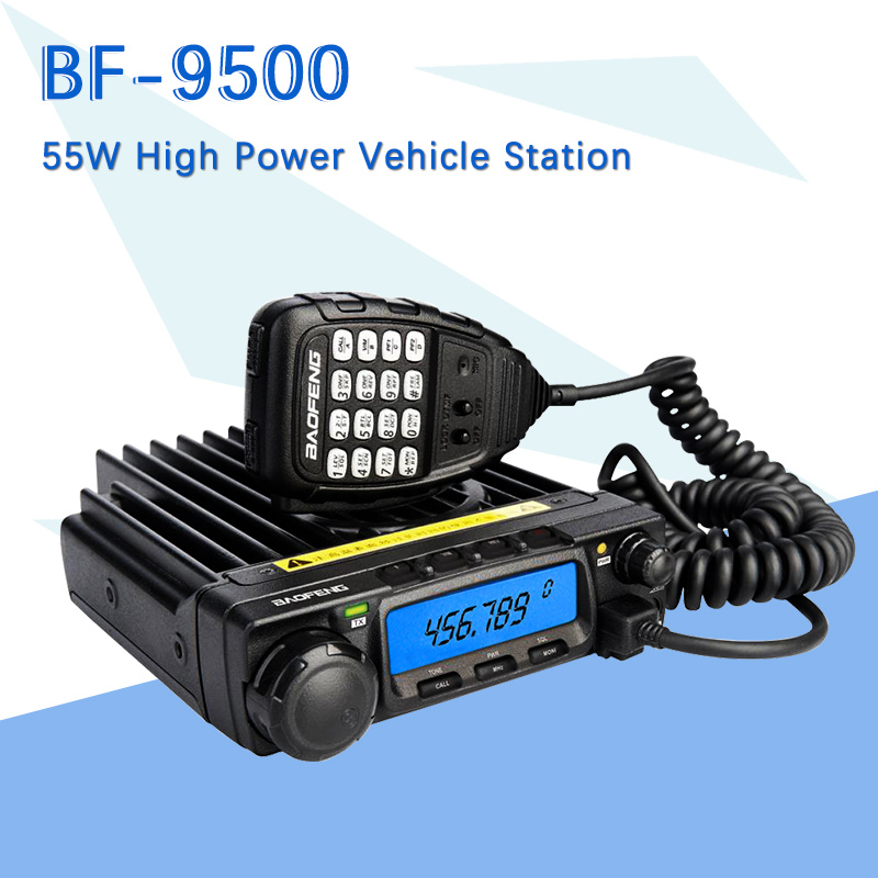 Baofeng BF 9500 UHF 400 470MHz 200CH CTCSS/DCS/DTMF Transceiver, 50W/25W/10W Car Mobile Vehicle Radio-in Walkie Talkie from Cellphones & Telecommunications