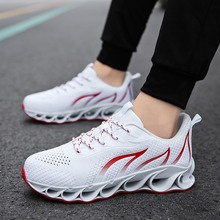 2019 Super Cool Breathable Running Shoes Men Sneakers Bounce Summer Outdoor Sport Professional Training Plus Size 47