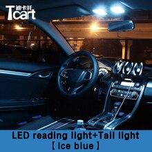Tcart 4 шт. безошибочный светодиодный внутренний свет для Honda Civic