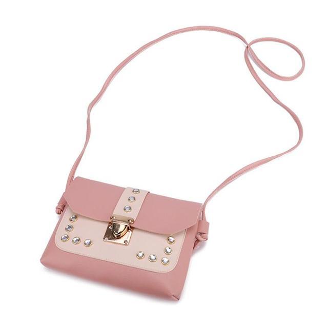 Color Panelled Mini Women Shoulder Bags  4