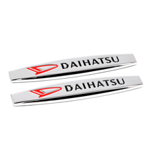 2pcs Decal For Daihatsu Terios Sirion YRV Mira Rocky Feroza Charade Materia Copen Sticker Chrome Fender Emblem Badge Car Styling