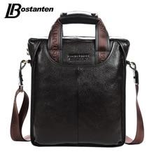 Bostanten font b 2017 b font Hot Sale Genuine Leather Business Briefcase Portable Laptop Handbag Casual