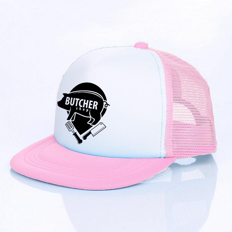 Cute Pink Pig Classic Adjustable Cotton Baseball Caps Trucker Driver Hat Outdoor Cap Fitted Hats Dad Hat Black