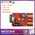 Привело платы управления питания Huidu HD-Q41 HD-S62 LED контроллер карты USB + ПОСЛЕДОВАТЕЛЬНЫЙ порт 64*768 пикселей для p10 светодиодный экран diy kit led