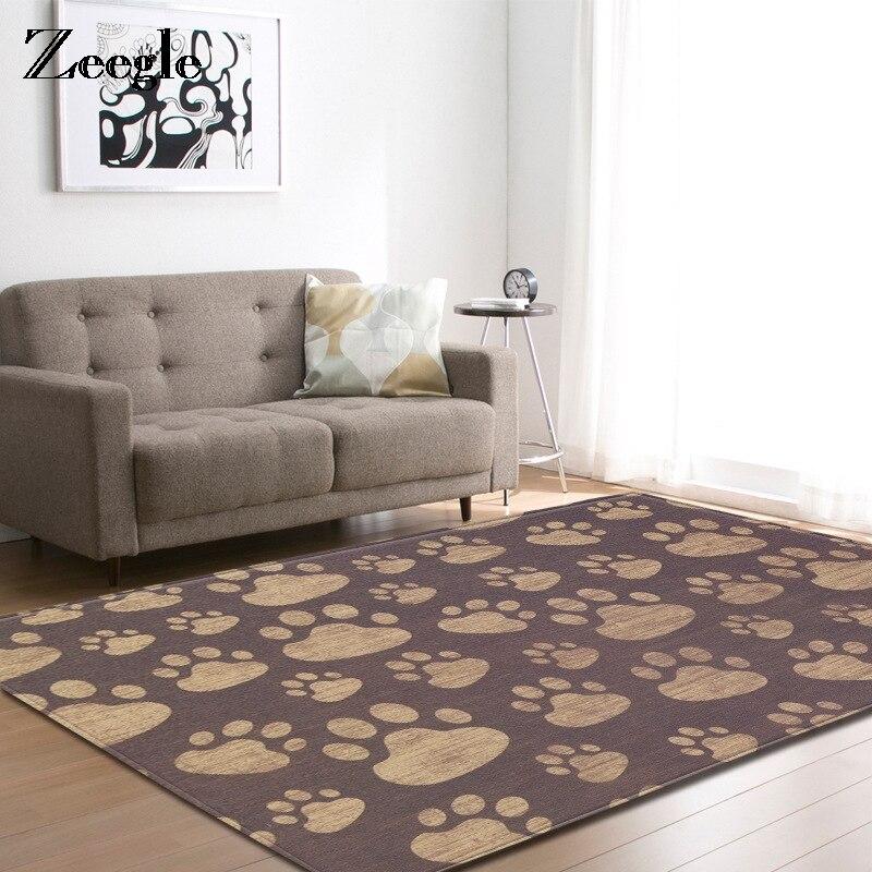 Bedroom Sofa Table: Zeegle Carpet For Living Room Children Room Anti Slip Soft