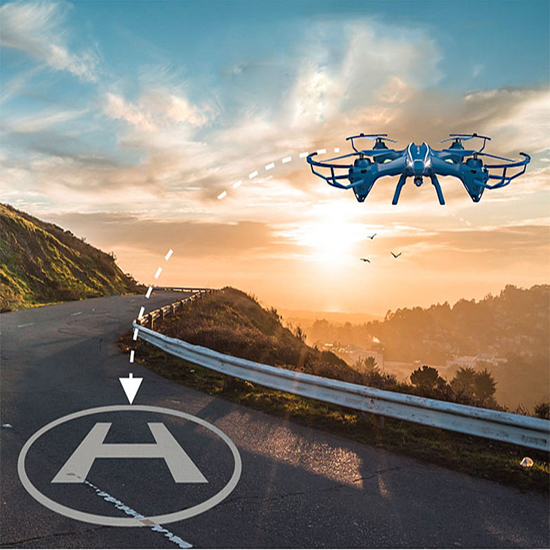 все цены на Hot RC Drone With 5.0MP HD Camera UDI  U818SW 2.4G 4CH 6-Axis RC Helicopter Quadcopter онлайн