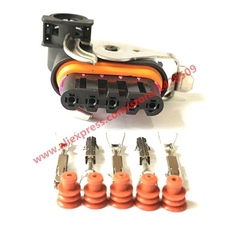 5 Sets XL Auto Partes Femeninas Conector Motor Del Limpiaparabrisas ...
